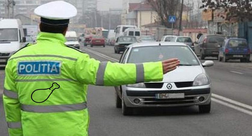 Poliția rutieră te va amenda nu doar dacă ai băut, ci și dacă ai mâncat!