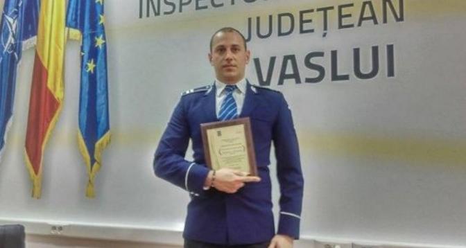 Țara lui Tudorel: Un poliţist a fost condamnat să achite daune morale hoţului prins în flagrant