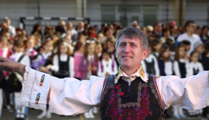 Părintele Pomocraci va cânta la deschiderea anului școlar!