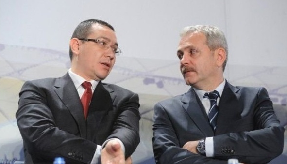 Lui Ponta îi e ciudă că nu distruge el România în locul lui Dragnea!