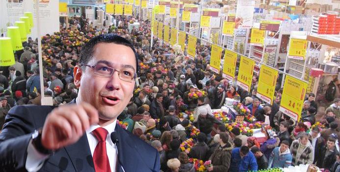 """Ponta a făcut scandal la supermarket: """"Sunt oameni care se pun de 3-4 ori la coadă ca să-i dea la televizor!"""""""
