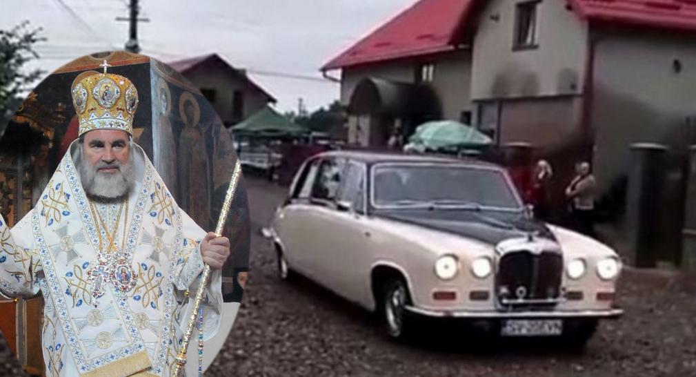 Blasfemie! Un popă areRolls Royce aproape la fel de scump ca clopotul lui Daniel!
