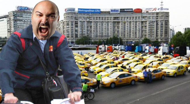 După ce taximetriștii au cerut intezicerea Uber, poștașii cer și ei interzicerea Yahoo!