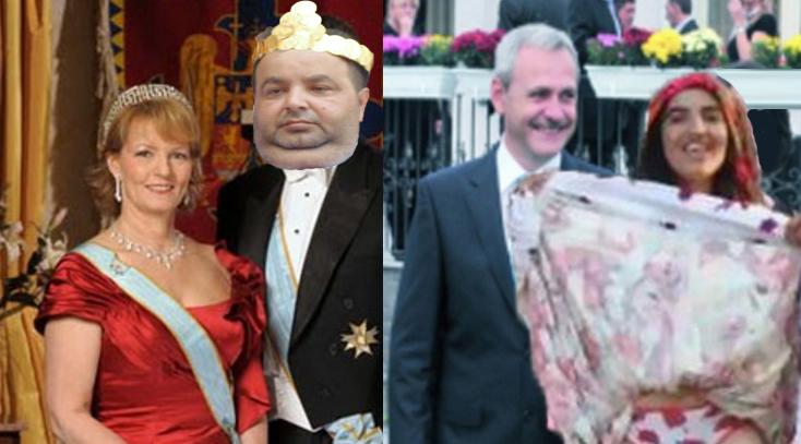 Se pregătește unirea regatelor: Cioabă se însoară cu principesa Margareta, iar Dragnea cu Mercedesa!