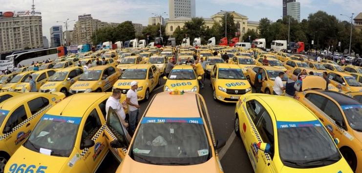 Taximetriștii să facă și un protest ca să nu mai ia ITP-ul pe șpagă. Și ca să nu se mai pună manele în taxi