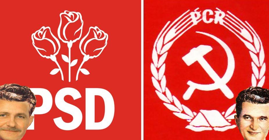 PCR dă PSD în judecată pentru că i-a furat culorile, palmaresul și programul de guvernare!