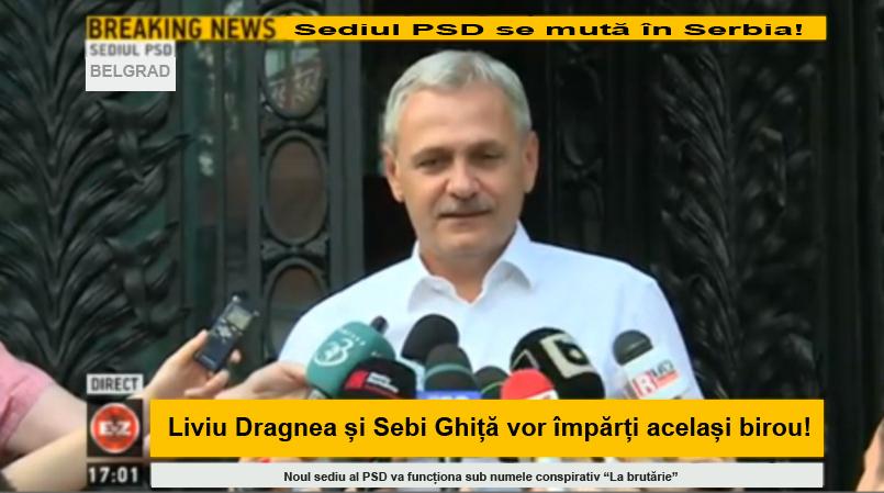 (Surse) PSD își mută sediul central în Serbia!