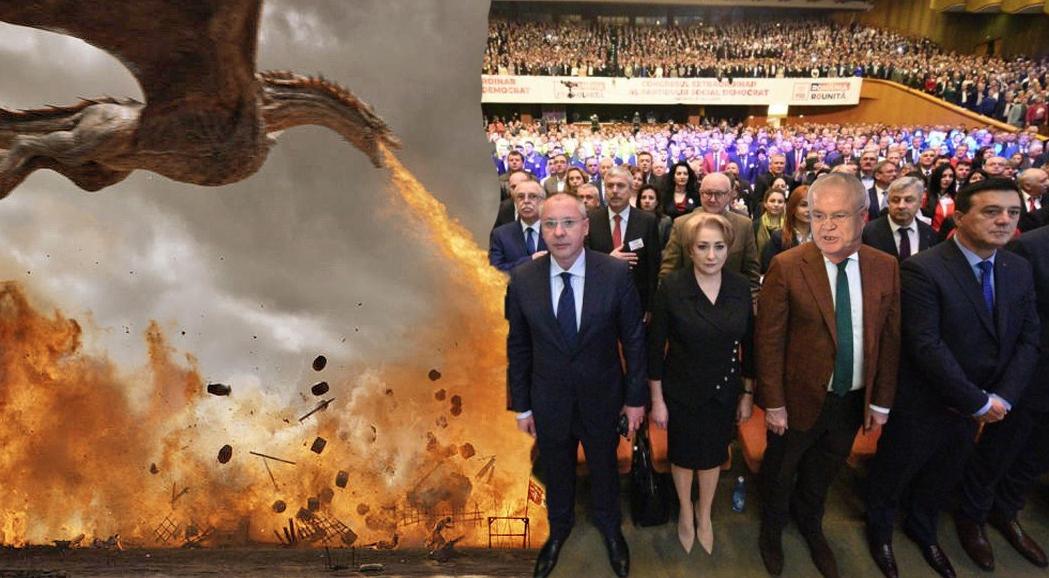Dacă m-aș duce la Congresul PSD, aș zice un singur cuvânt: DRACARYS!