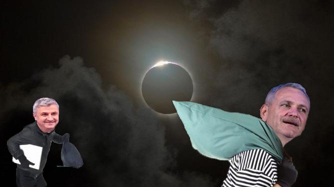 Eclipsa de Lună pune PSD-ul pe jar: vor fi condiții ideale de furat!