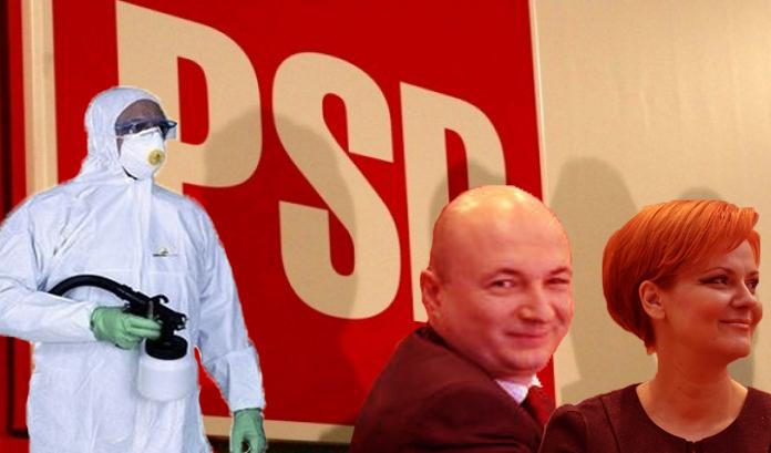 În pereții de la PSD au fost descoperiți stafilococi roșii!