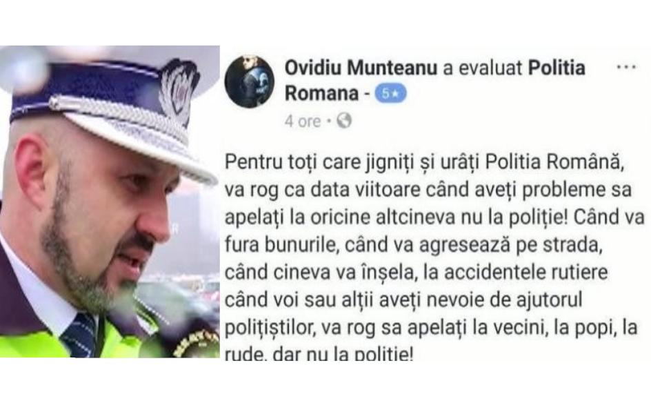 Dacă ați supărat PSD-ul, apelați la popă!Că poliția lucrează momentan pentru partid!