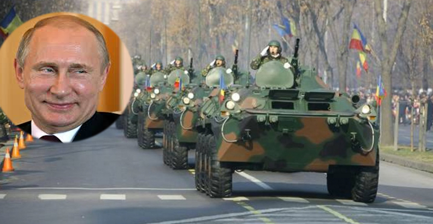 """Putin: """"Dacă nu vă reveniți, o să vă facem noi parada de 1 Decembrie. Zilnic. Vreo 20 de ani!"""""""