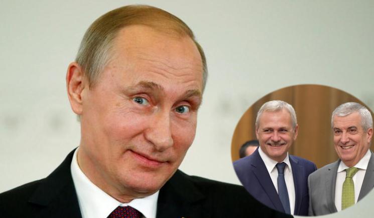 Vladimir Putin va fi viitorul premier al României propus de PSD-ALDE!