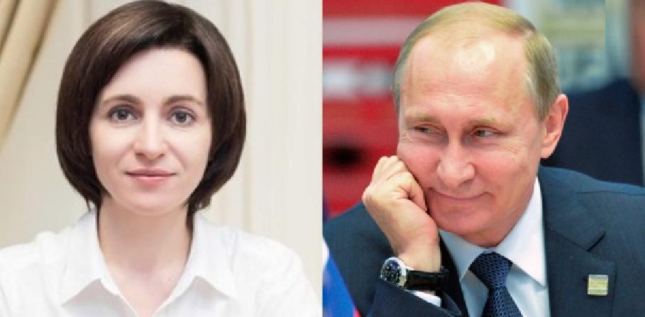"""Putin, după ce Maia Sandua câştigatşi turul al doilea: """"Are ceva şanse săajungă preşedinte!"""""""