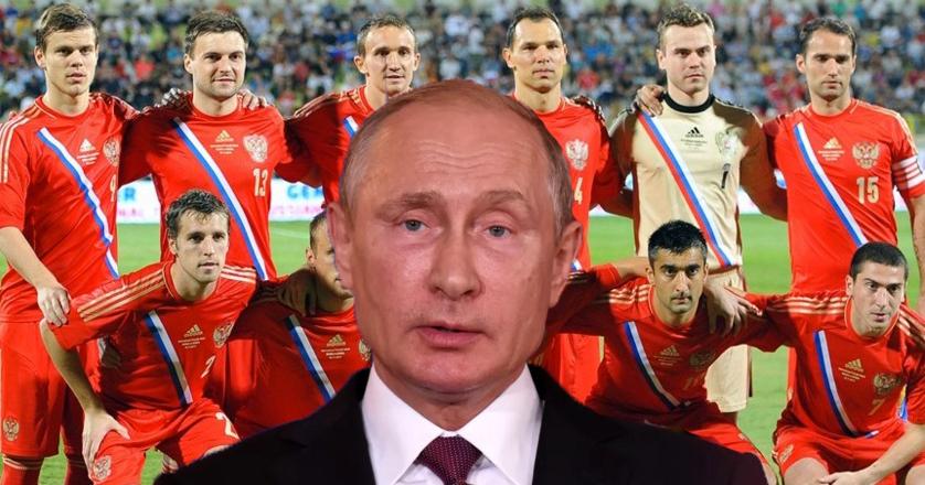 """Putin își încurajează jucătorii: """"Dacă batem, mergem în semifinală. Dacă nu, mergem în Siberia!"""""""