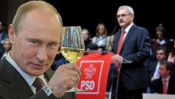 Vladimir Putin, primul pe listele PSD pentru europarlamentare!