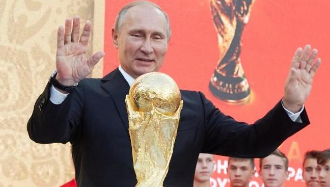 """Putin anunță că Rusia e în semifinale: """"Anexăm Croația!"""""""