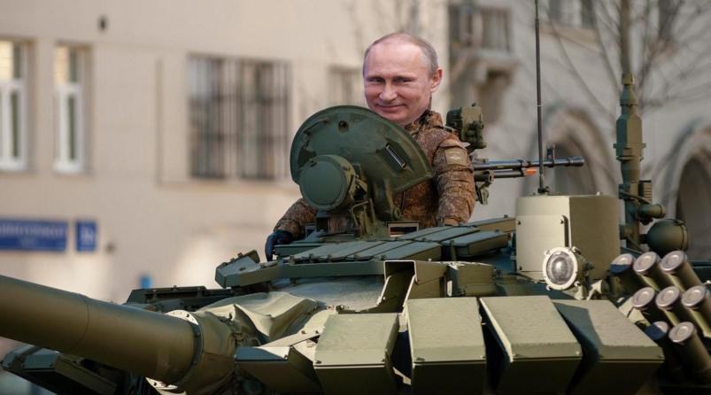 Putin se oferă să ne trimită el nişte armată pe străzi, dacă ne e dor de paradă!