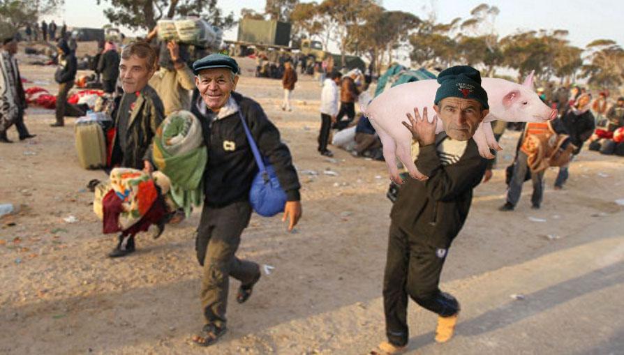 Tot mai mulți refugiați teleormăneni sunt prinși la granița cu România încercând să emigreze la noi!