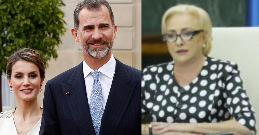 Viorica s-a coafat special pentru regele Spaniei! Poate își lasă ăla nevasta și fuge cu ea la Priștina!