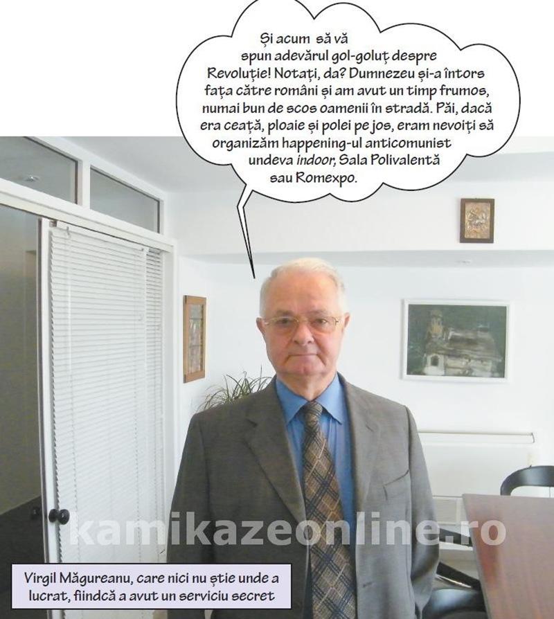 """Virgil Măgureanu: """"Se folosește termenul de revoluție cu prea multă ușurință"""""""