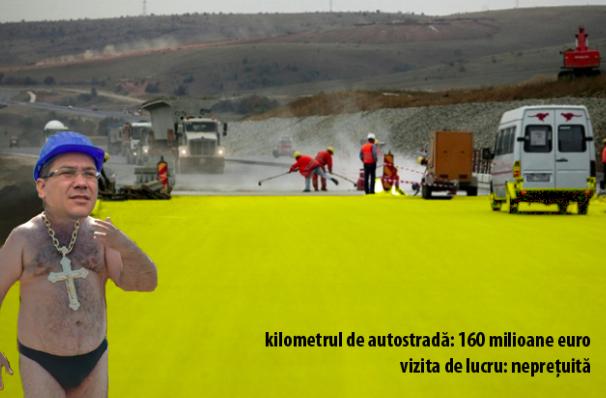 Victor Ponta dă asigurări că autostrada Comarnic-Brașov se face