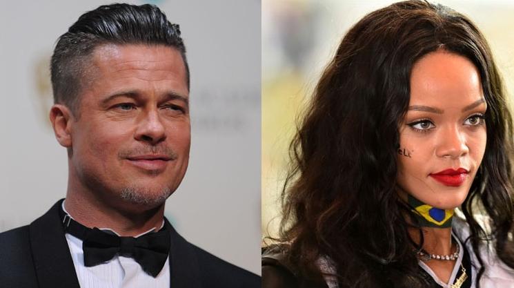 """Brad Pitt explică de ce se grăbește să se combine cu Rihanna: """"O sună Borcea cu număr ascuns"""""""