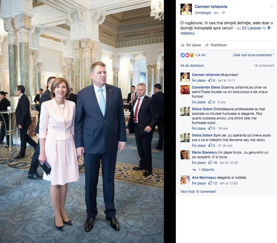 Carmen Iohannis i-a dat lovitura de grație lui Poptămaș