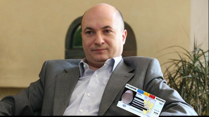 Codrin Ștefănescu, amendat pentru că are în buletin o poză cu o p_lă!