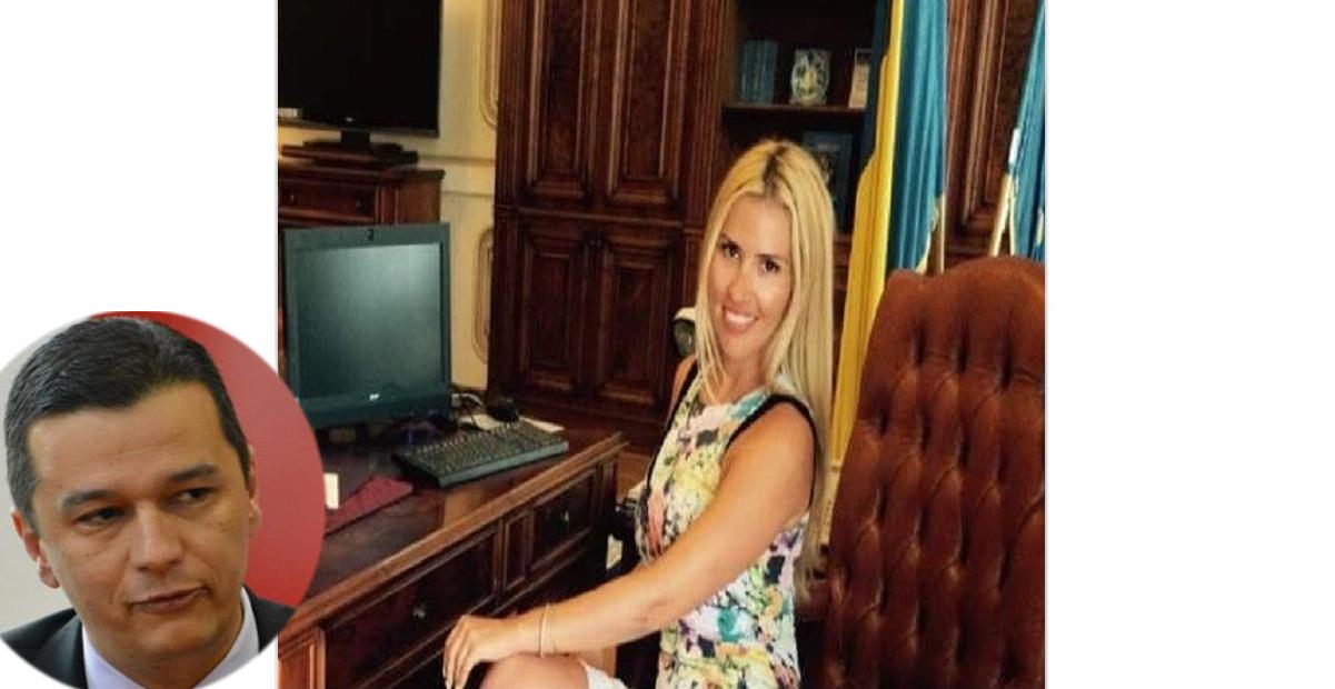 Blonda lui Grindeanu de la Ministerul Turismului - numită secretar de stat. Pe competență, așa cum se vede și în poză