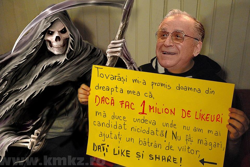 Bancul cu Iliescu când f_te moartea la ea acasă