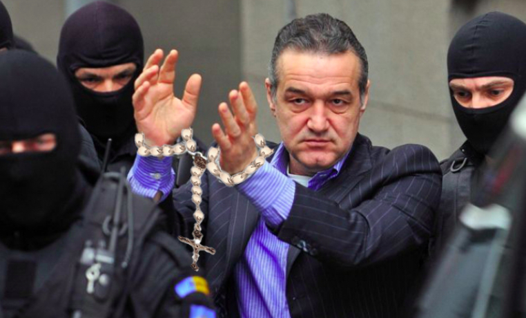 LIVE TEXT de la arestarea lui Gigi Becali