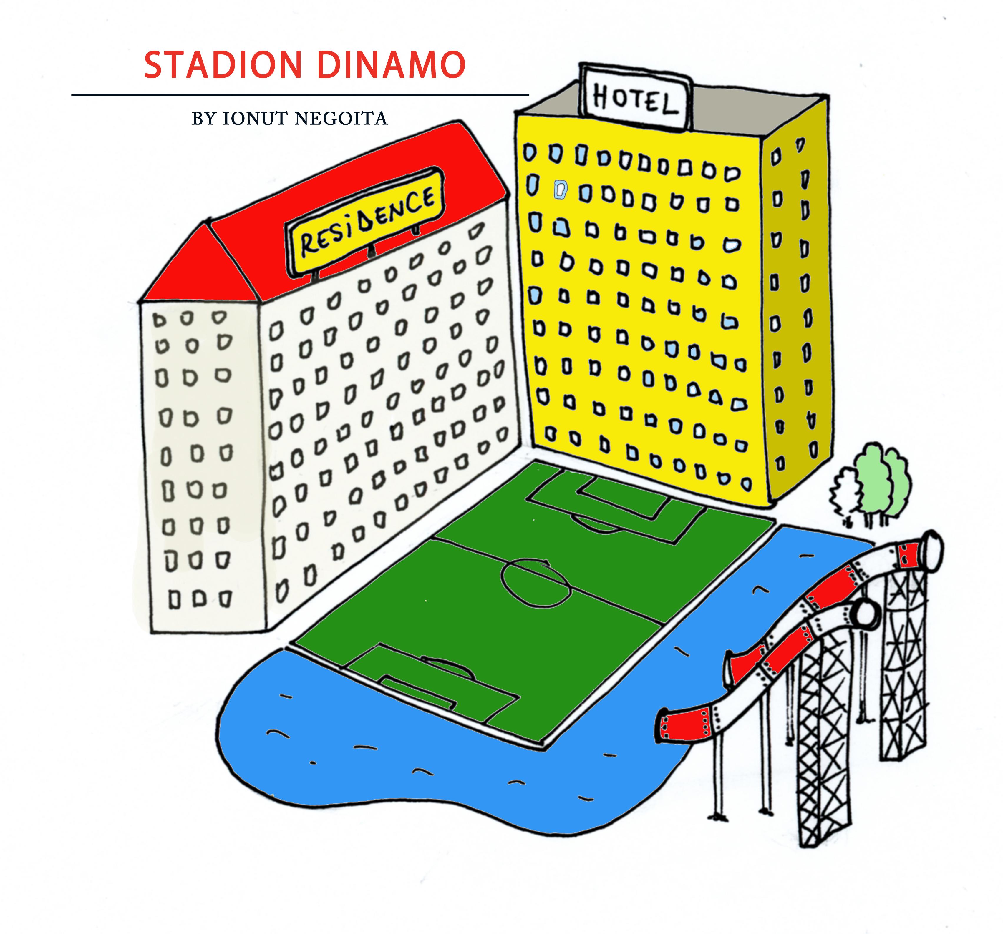 Noul Stadion Dinamo în viziunea lui Ionuț Negoiță
