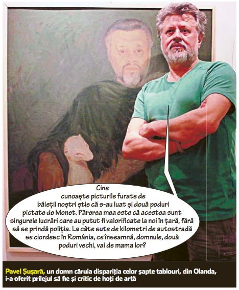 """Criticul de artă Pavel Șușară: """"Să ții tablourile ascunse e un fel de masturbare"""""""