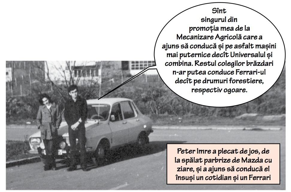 Peter Imre, de la tractorist la proprietar de Ferrari