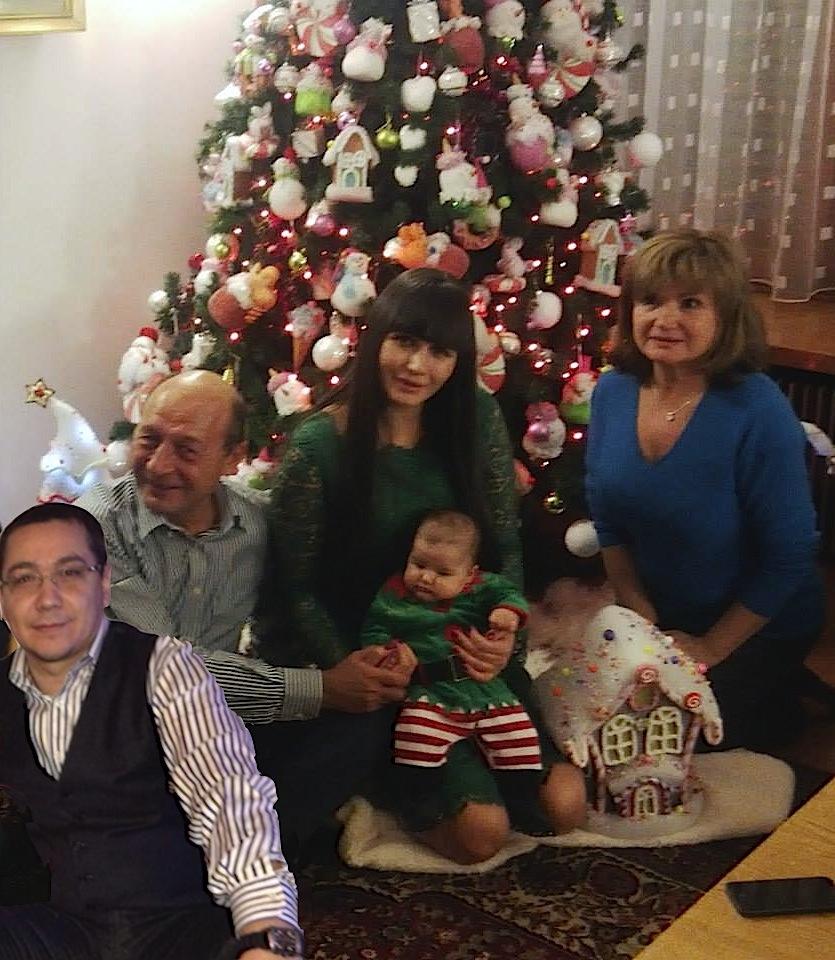 După poza asta, n-o să-i mai creadă nimeni când se ceartă: Ponta a luat masa cu familia Băsescu!