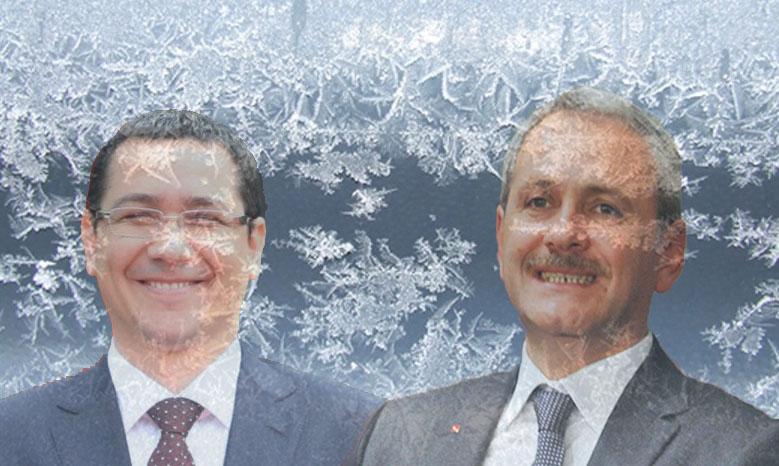 """Alertă ANM: """"Cod roșu de îngheț! La minciunile lui Ponta s-au adăugat minciunile lui Dragnea"""""""