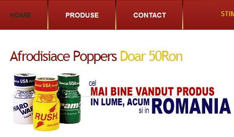 Poppers, drogul care-ți lărgește fundul