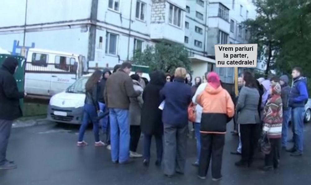 """Revoltă într-un bloc din București: """"Am rămas ultimii proști din cartier fără casă de pariuri la parter!"""""""