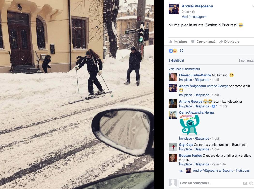 Valea Prahovei intră în faliment! Gabi Firea a transformat Bucureștiul în stațiune de schi