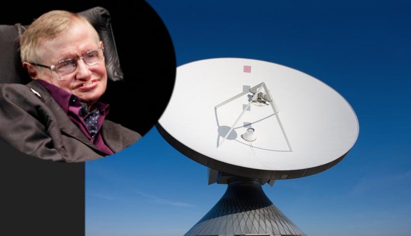 "Stephen Hawking: ""A fost primit un mesaj ciudat dintr-o altă galaxie: PARTIKIP!"""