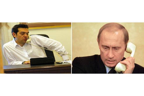 Ce au discutat Tsipras și Putin la telefon