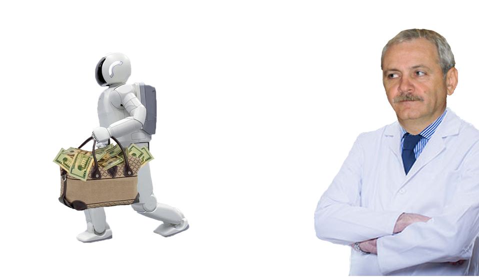 Politicienii riscă să-și piardă locurile de muncă: a fost inventatRoboHOȚ, robotul care fură mai bine decât un om!