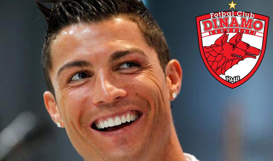 """Ronaldo s-ar transfera la Dinamo: """"E cea mai pregătită echipă pentru Liga Campionilor din lume!"""""""
