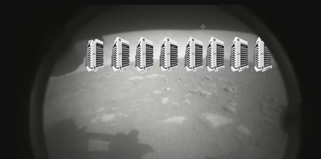 În primele imagini transmise de pe Martede roverul Perseverancese văd clar cele 8 spitale regionale construite de PSD!