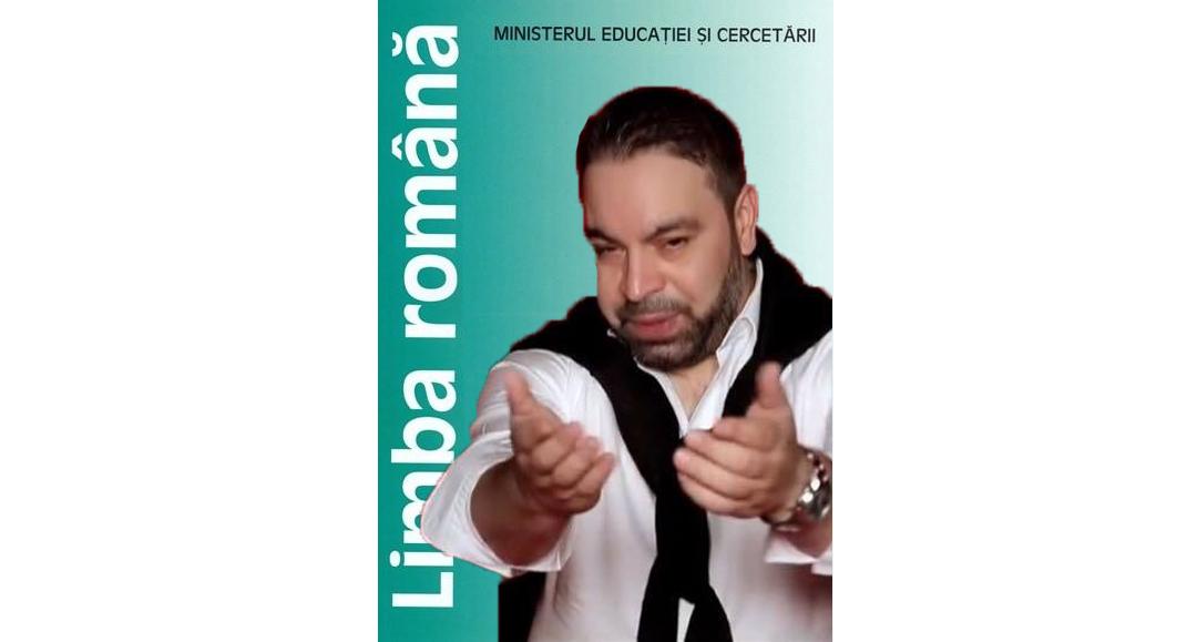 Pentru că e mai cunoscut în școli decât Eminescu, Florin Salam va fi pus pe coperta manualului de română!