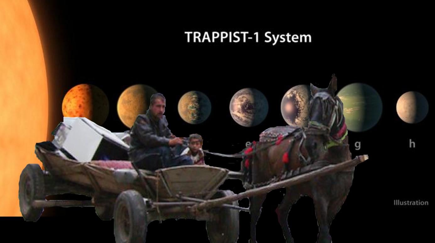 """Un savant din Ferentari desființează noile planete descoperite de NASA: """"Degeaba are apă pe ele dacă n-are fer!"""""""