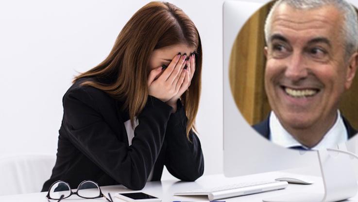 """Secretara lui Tăriceanu și-a dat demisia: """"Călin a îmbătrânit! M-a angajat acum 2 ani și încă nu m-a cerut de nevastă!"""""""