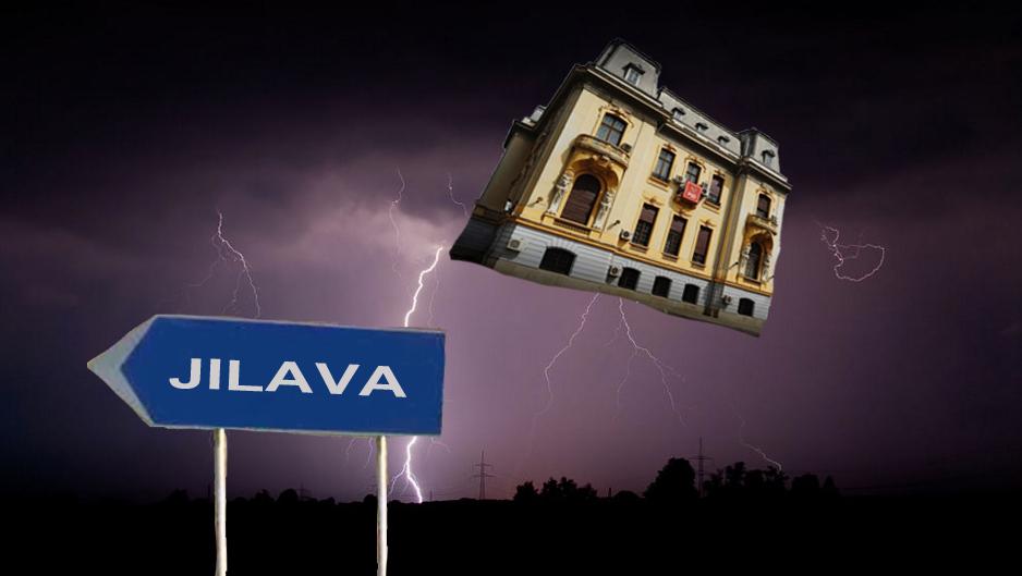 Ciclonul Olaf a luat pe sus sediul PSD și se îndreaptă vijelios spre Jilava!