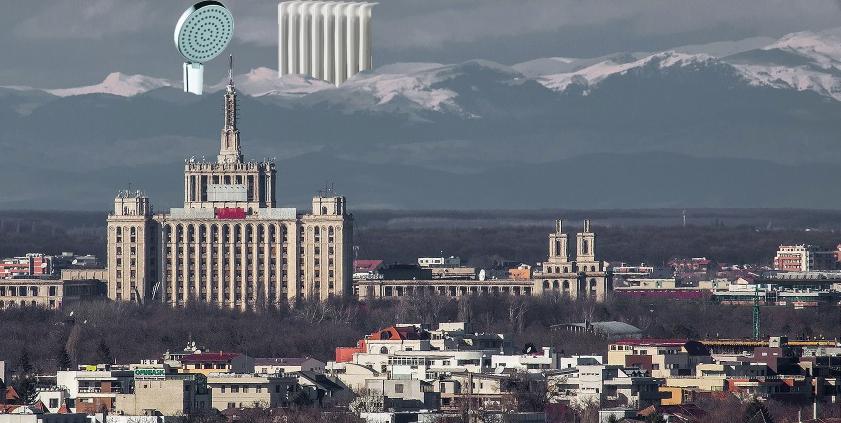 E atât de senin în Bucureşti încât se vede apa caldă din Cluj!